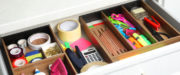 An organized drawer